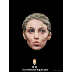 H003 Kiss Female Head Sculpt