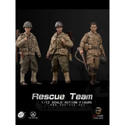 1:12 Set 3 Pzs WWII US...