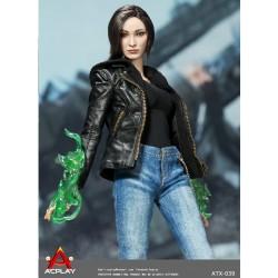 Super-Heroine Magnetic Girl