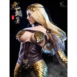 Set Dragon Female Warrior...