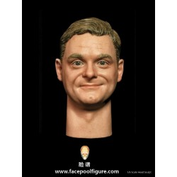 H001 Happy Male Headsculpt